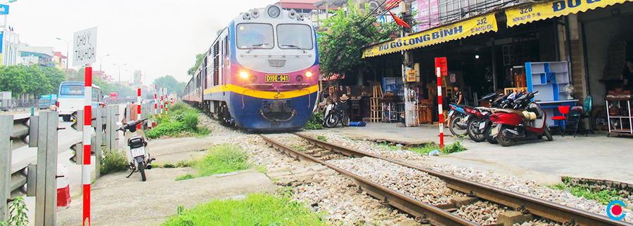Thực trạng hạ tầng giao thông Việt Nam - đường nội sắt