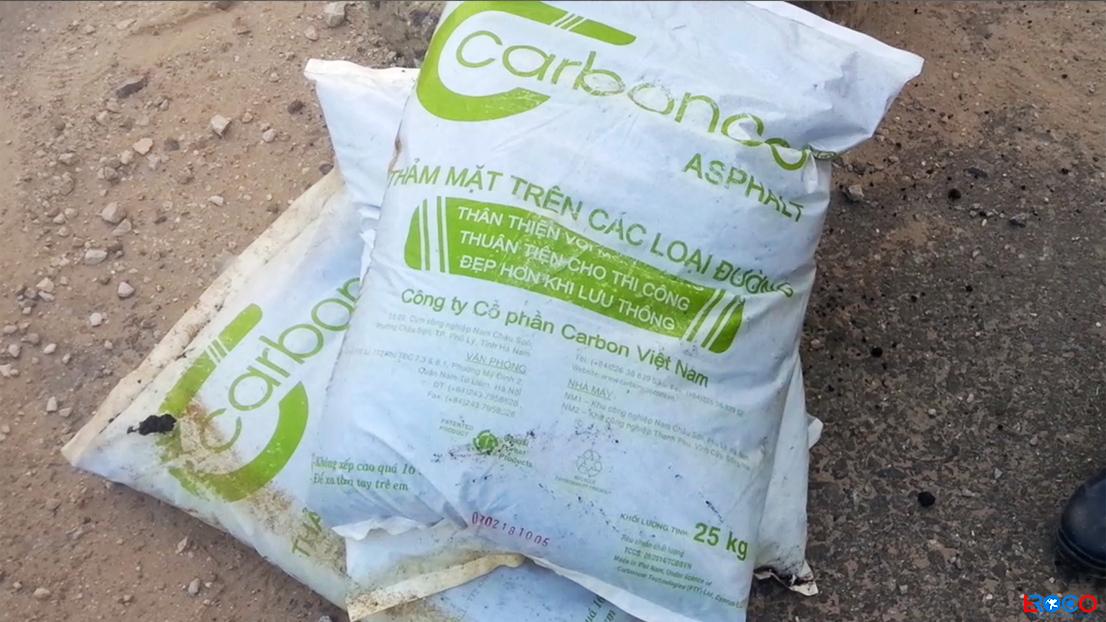 Vật liệu bao đóng sẵn bê tông Carboncor Asphalt