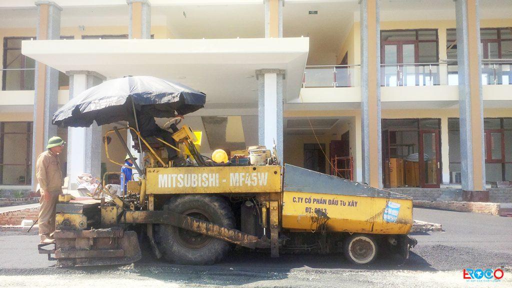 Thi công thảm bê tông nhựa nóng tại Vĩnh Phúc – Ban cơ yếu chính phủ